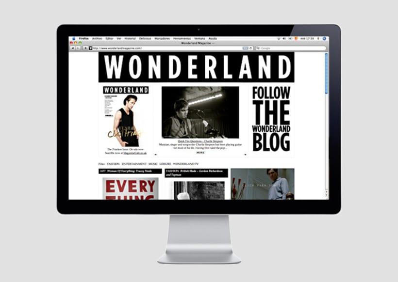 Wonderland magazine 1