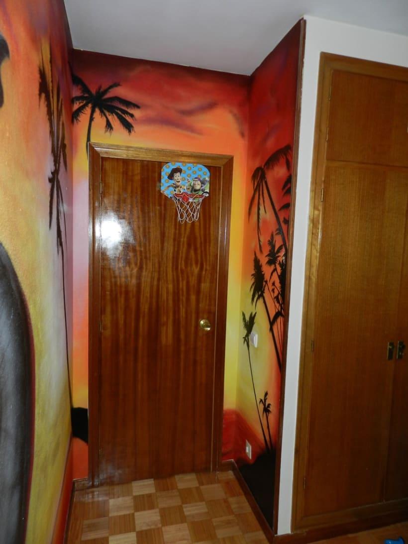 Elefante en dormitorio 5