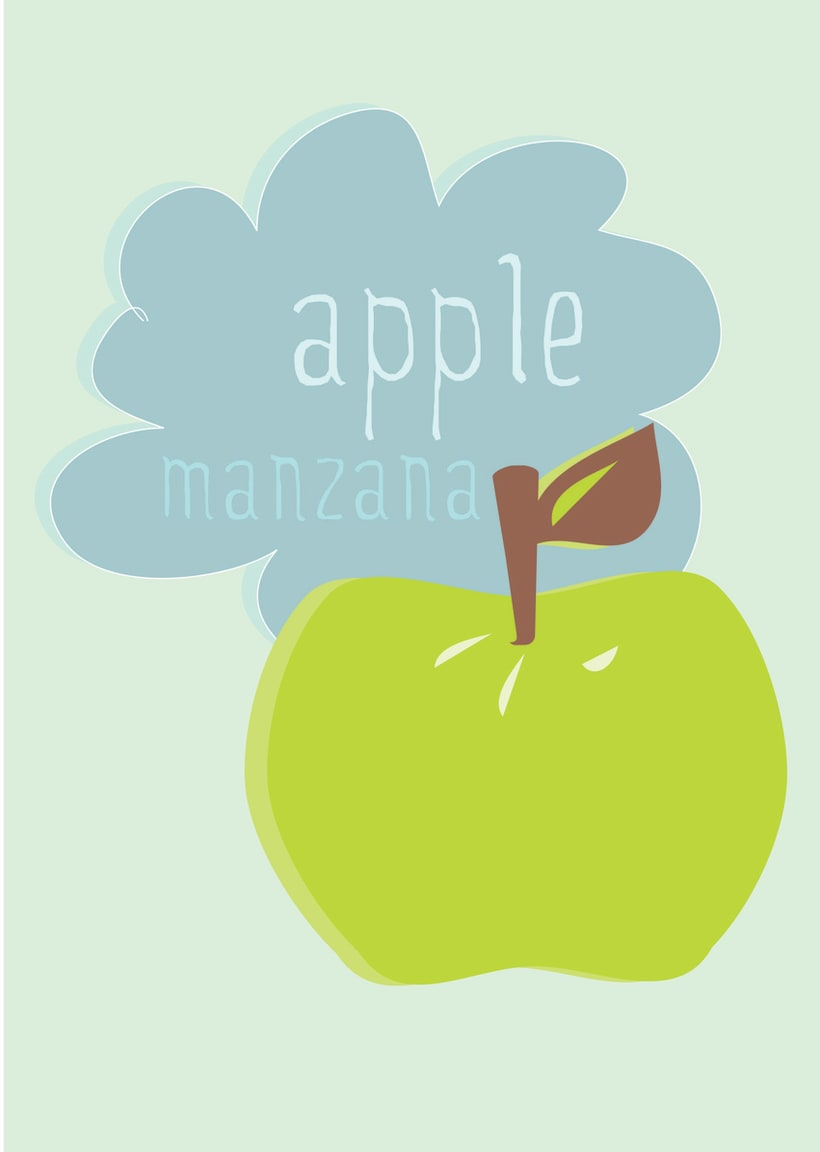 Manzana / Ilustración 1