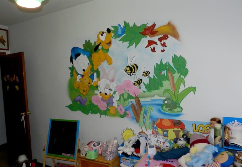 Mural Disney 3
