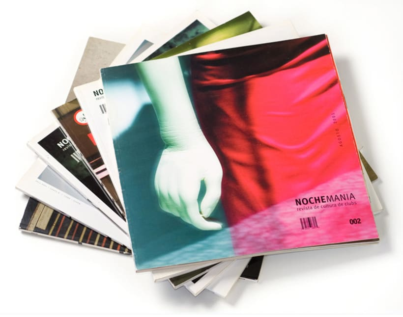 Art direction and layout Nochemania Magazines 2