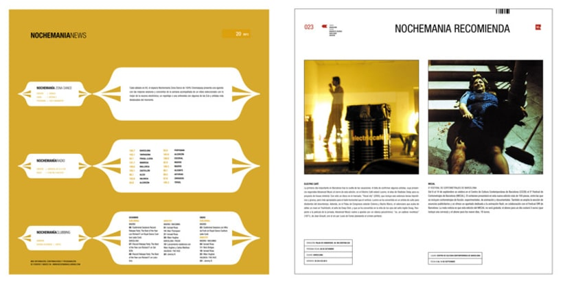 Art direction and layout Nochemania Magazines 7