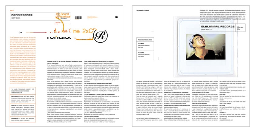 Art direction and layout Nochemania Magazines 10