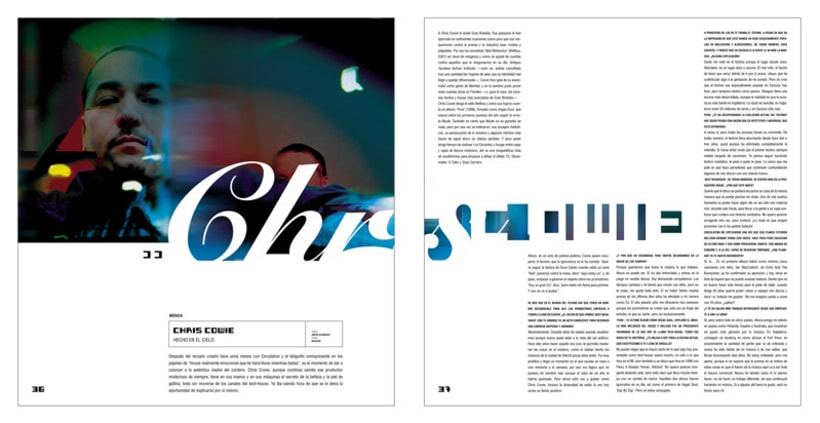 Art direction and layout Nochemania Magazines 11