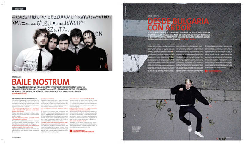 Art direction and layout: +Noche and Metrozin magazines 3