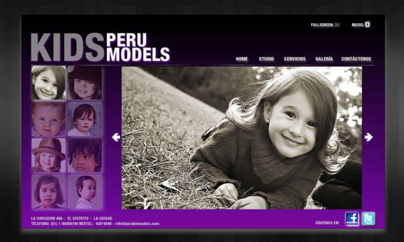 Kids Peru Models 2
