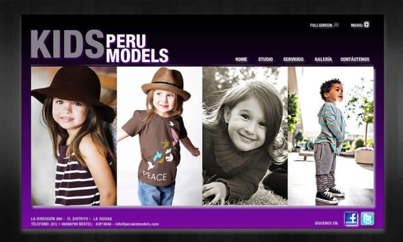 Kids Peru Models 1