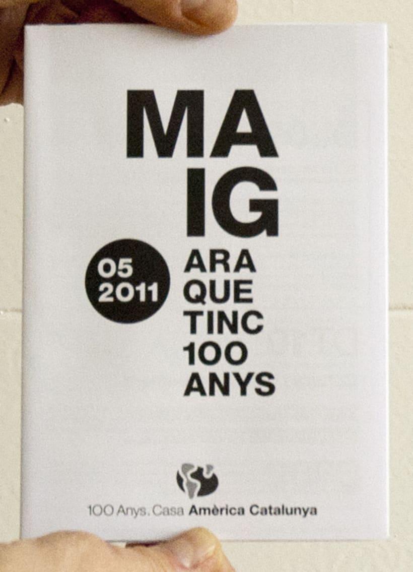 Events Leaflet Casa América. 2