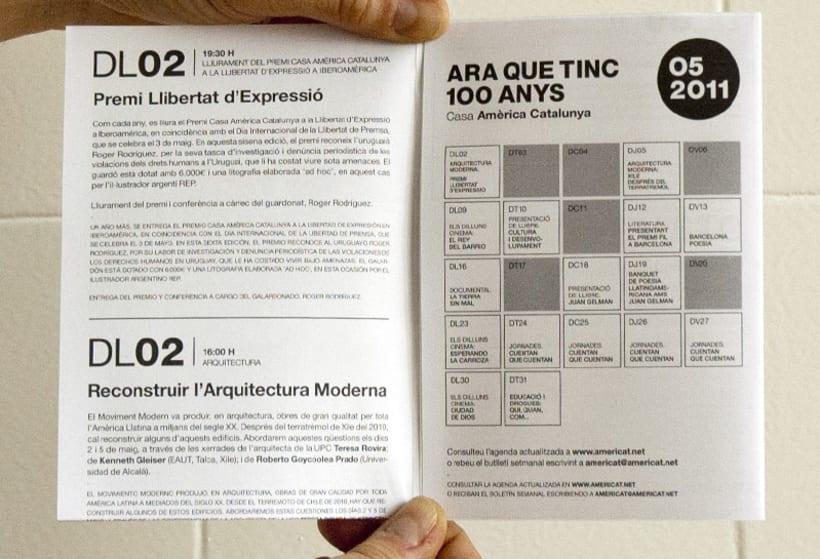 Events Leaflet Casa América. 3