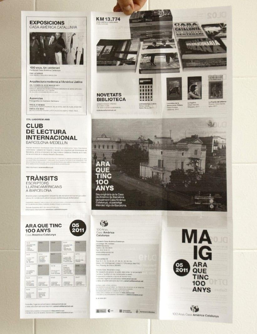 Events Leaflet Casa América. 4