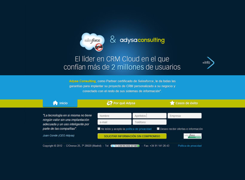 Salesforce & Adysa Consulting 1