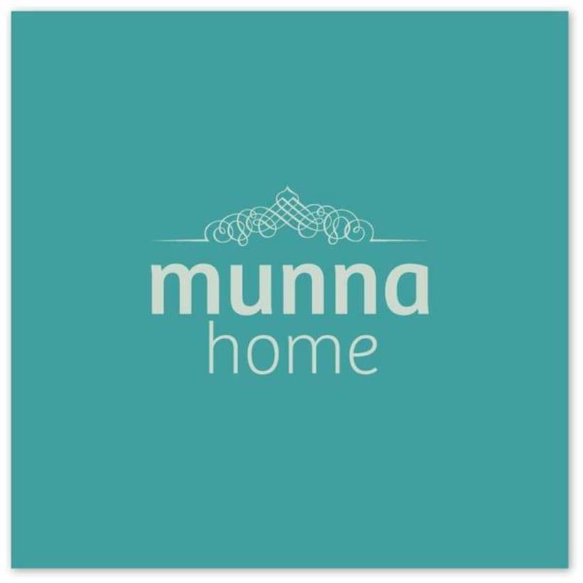 Identidad Corporativa MUNNA HOME 2
