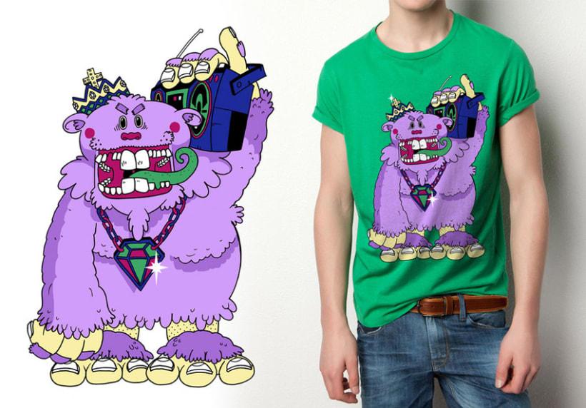 Acid character T-Shirts 6