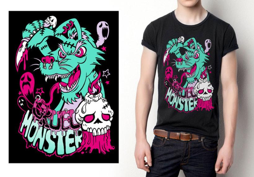 Acid character T-Shirts 5