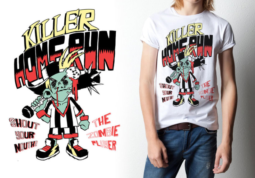Acid character T-Shirts 3