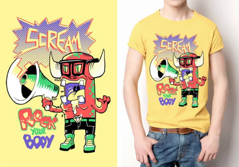 Acid character T-Shirts 4