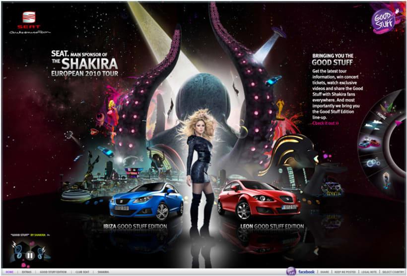 Good Stuff: SEAT & Shakira 2