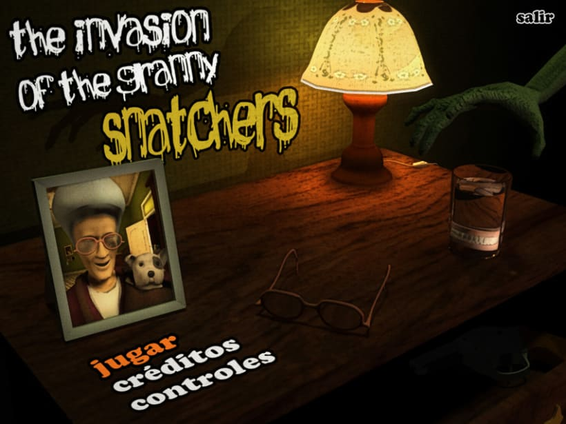 """The Invasion of the Granny Snatchers"" Video Game 1"