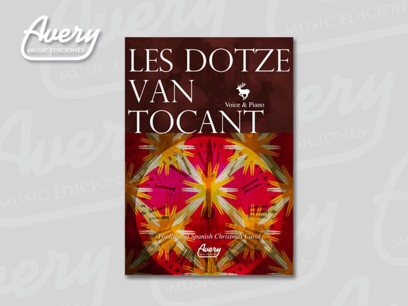 Diseño Editorial. Avery Music Ediciones 12