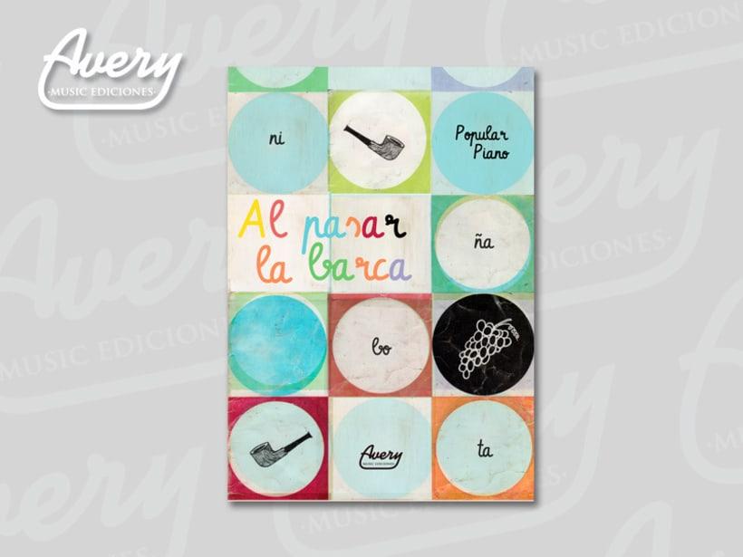 Diseño Editorial. Avery Music Ediciones 8
