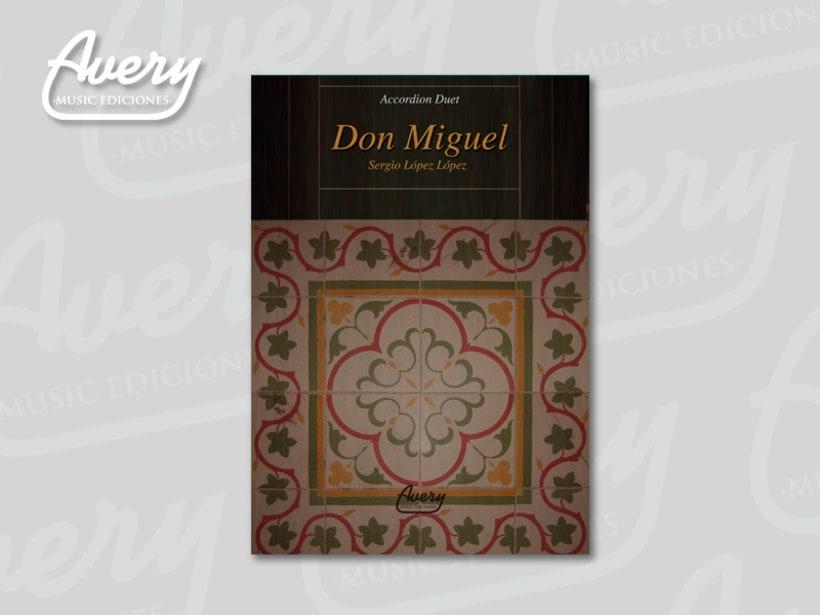 Diseño Editorial. Avery Music Ediciones 2
