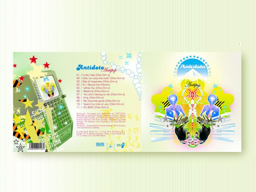 Diseño Discográfico 6