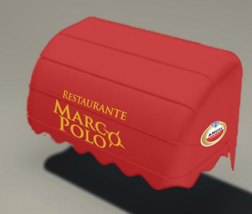 Imagen Corporativa restaurante Marco Polo 5