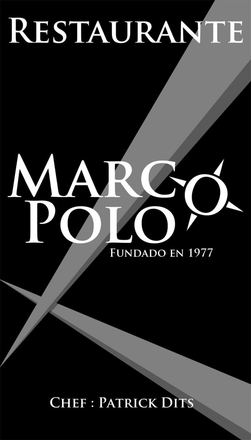 Imagen Corporativa restaurante Marco Polo 2