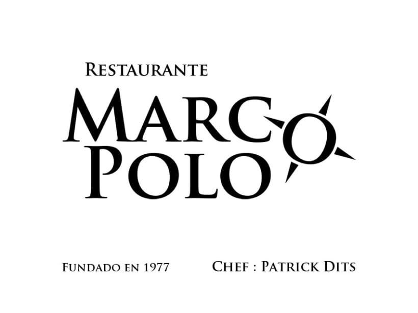 Imagen Corporativa restaurante Marco Polo 1