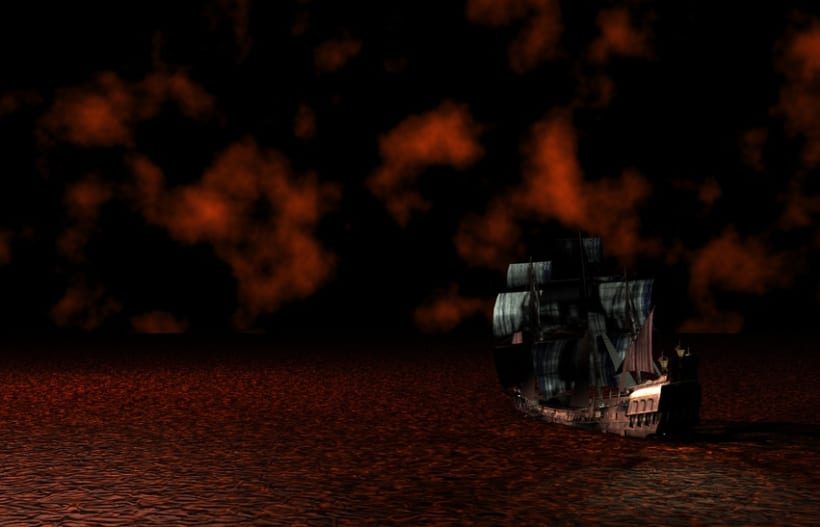 Barco 3D hell 2