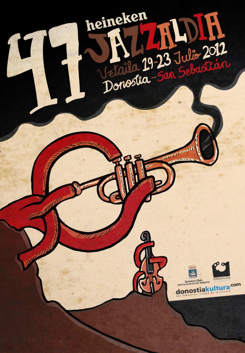Cartel Jazzaldia 2012 1