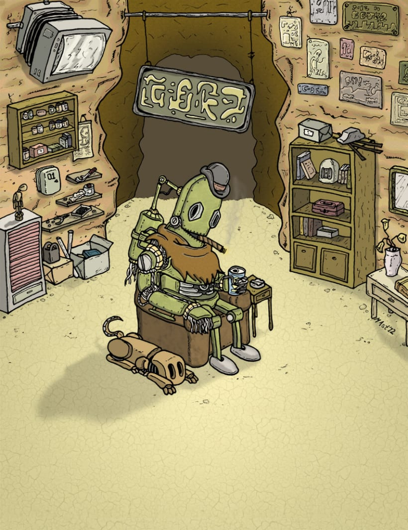 Mr.Roboto 1