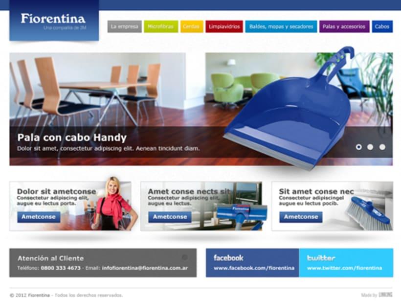 Fiorentina new website 2