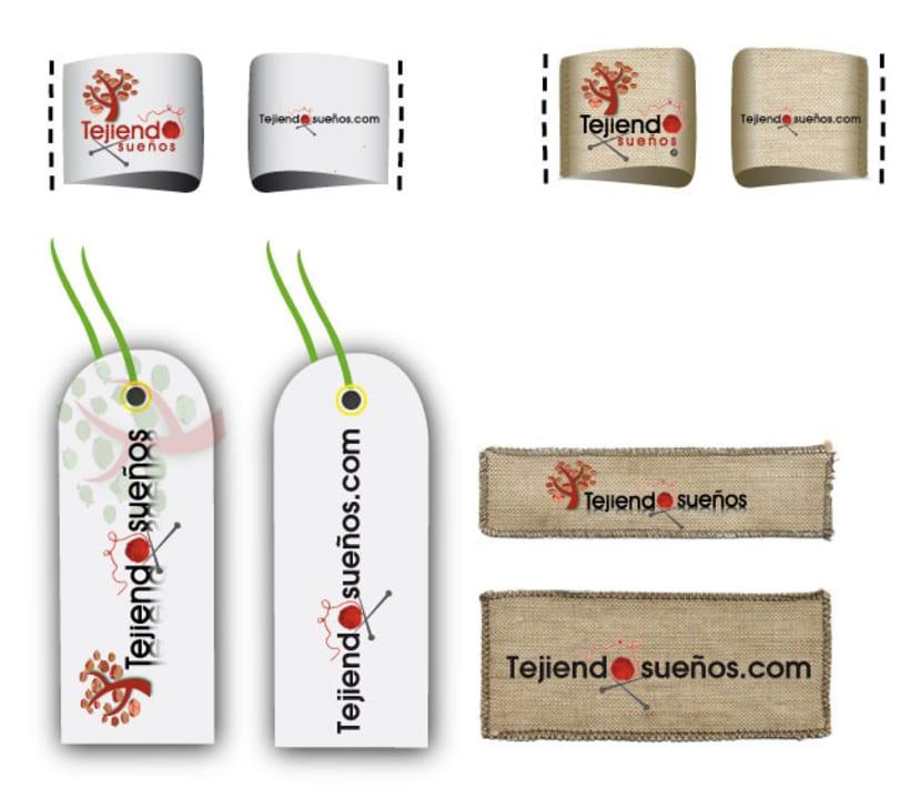 Diseño de Logotipo y aplicación para distintos soportes 8