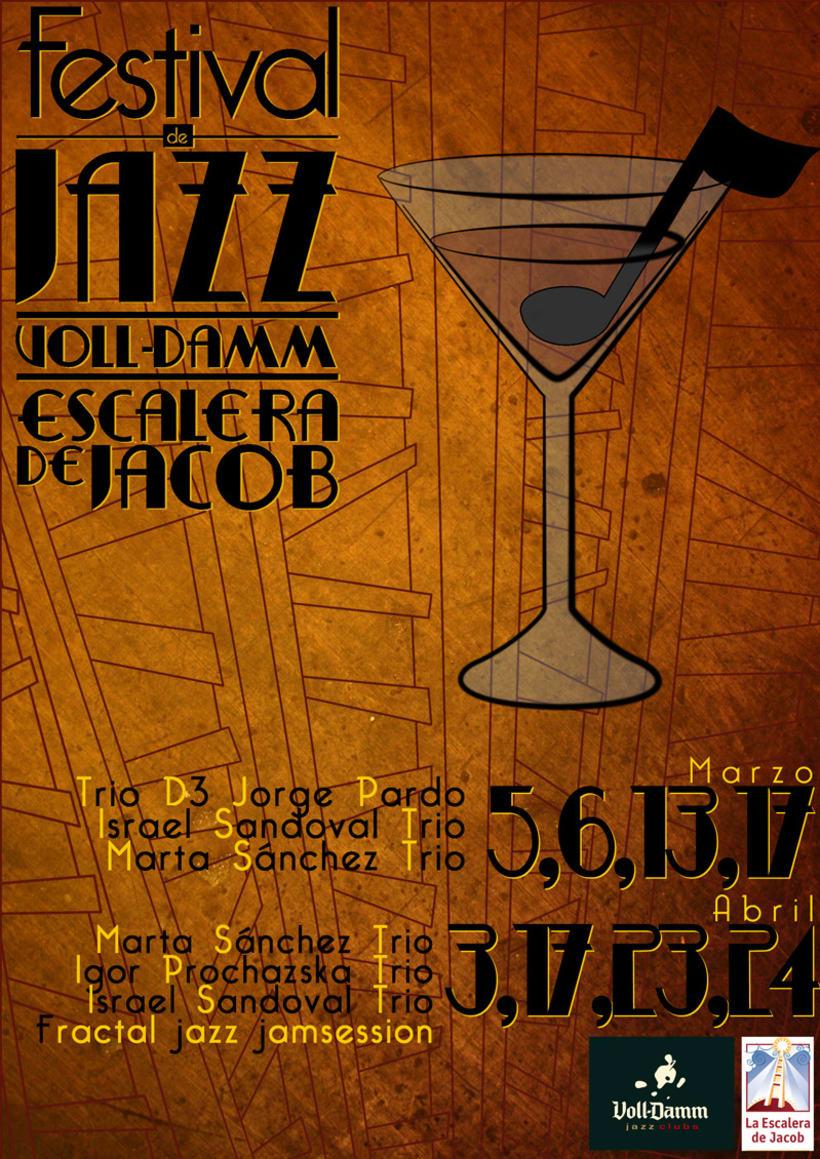Festival de Jazz - La escalera de Jacob Voll Damm 2