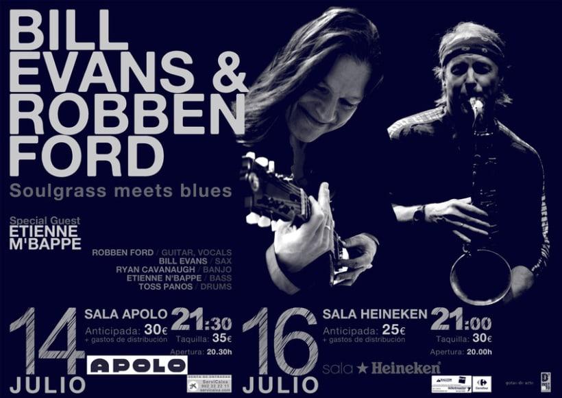 Concierto Bill Evans & Robben Ford 4