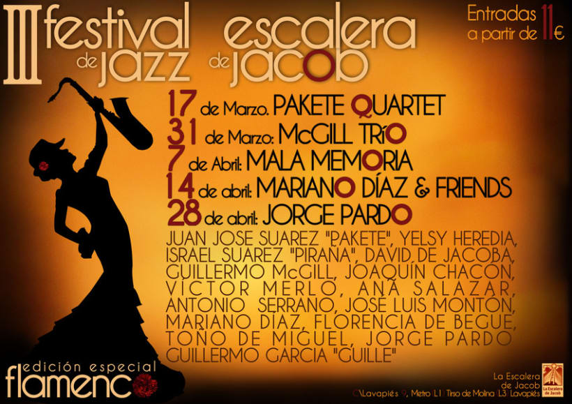 Festival de Jazz - La escalera de Jacob 4