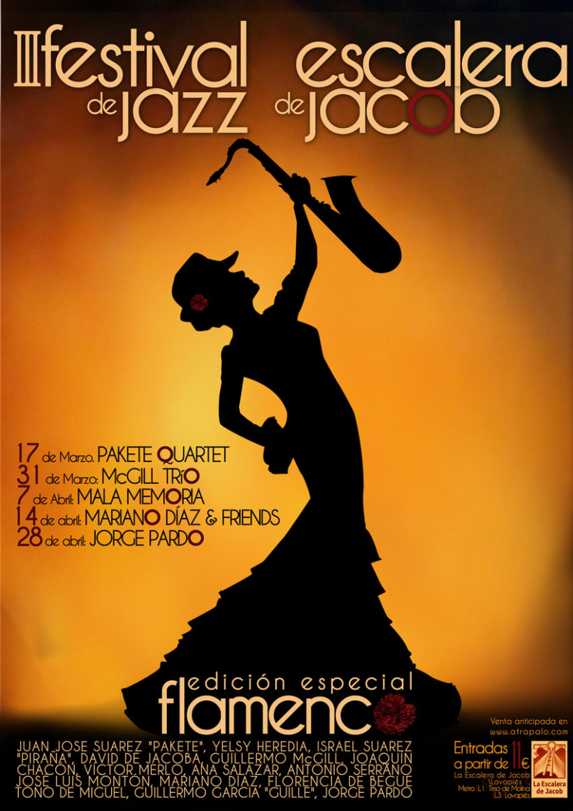 Festival de Jazz - La escalera de Jacob 2
