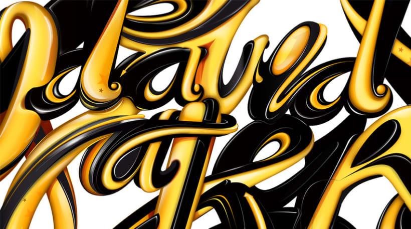 davidmaker - lettering 2