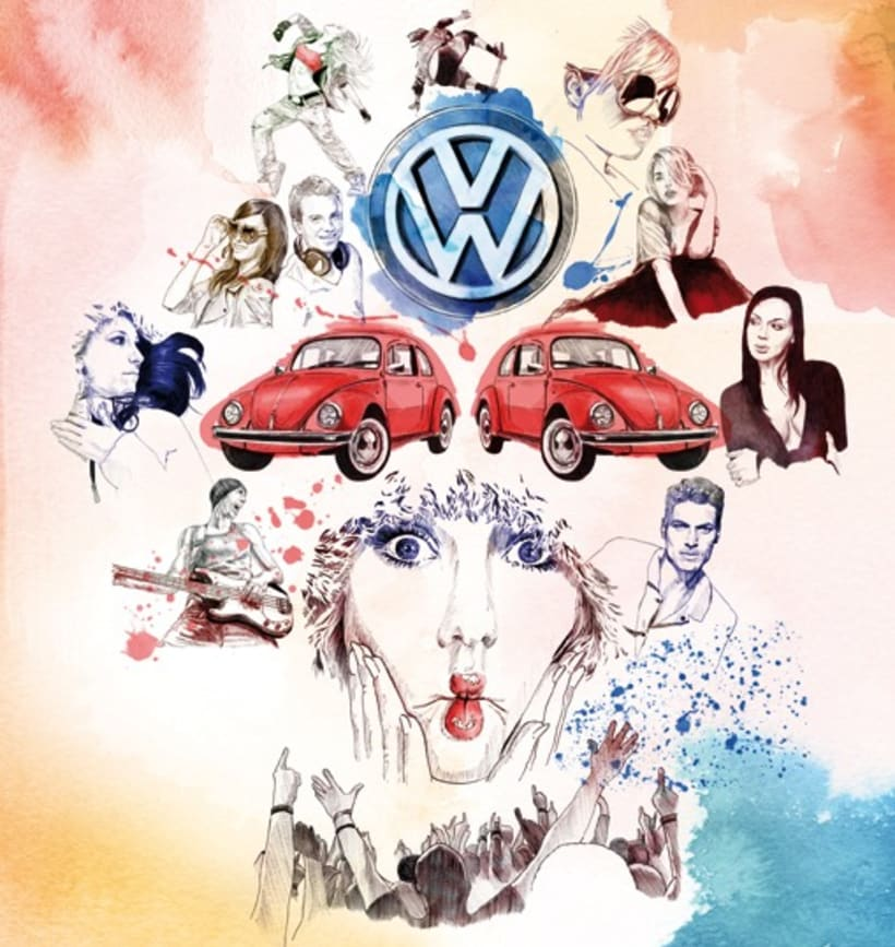 Yorokobu  Volkswagen 2
