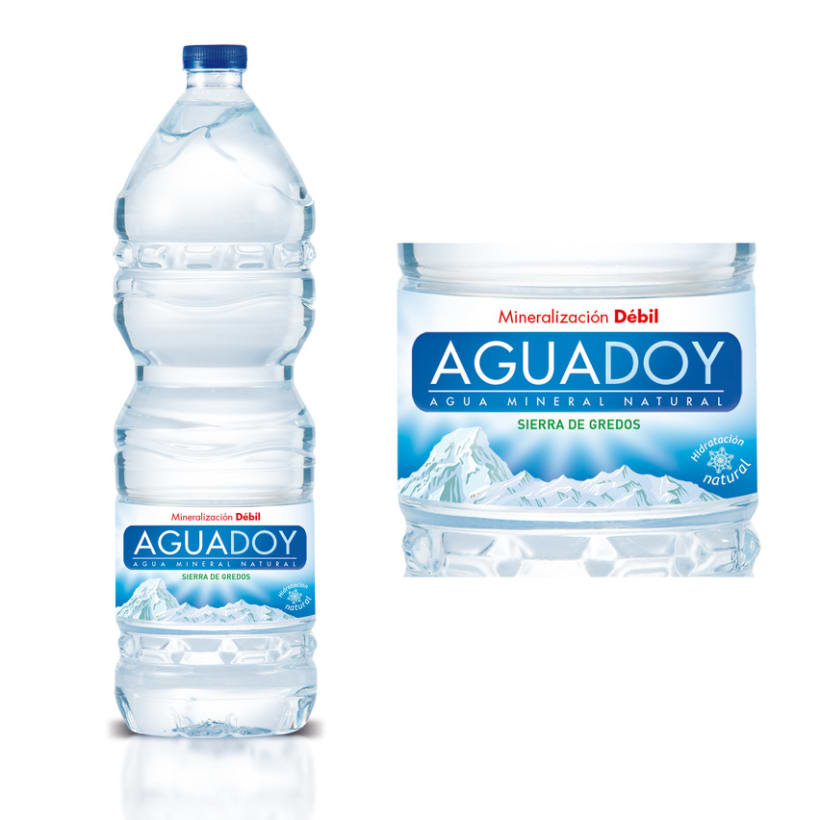 Packaging Agua Mineral 2
