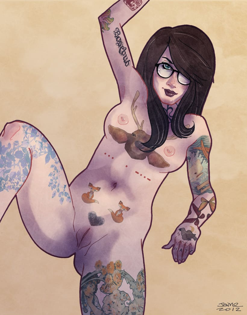 Tattoo the Girl 1