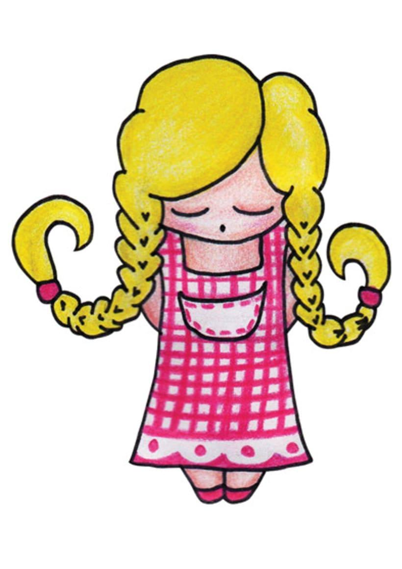 Ilustración infantil para la marca CUCHITA 24