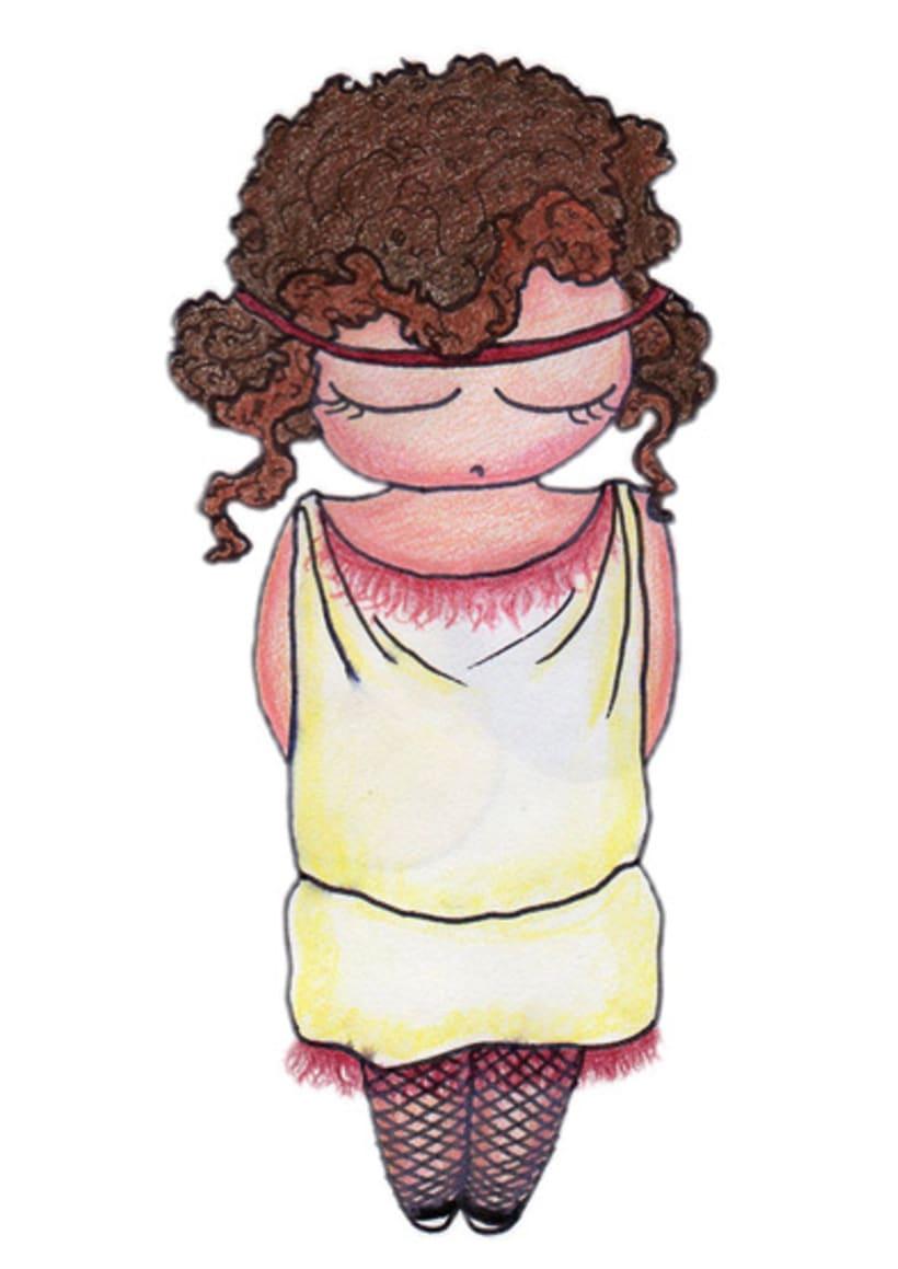 Ilustración infantil para la marca CUCHITA 21