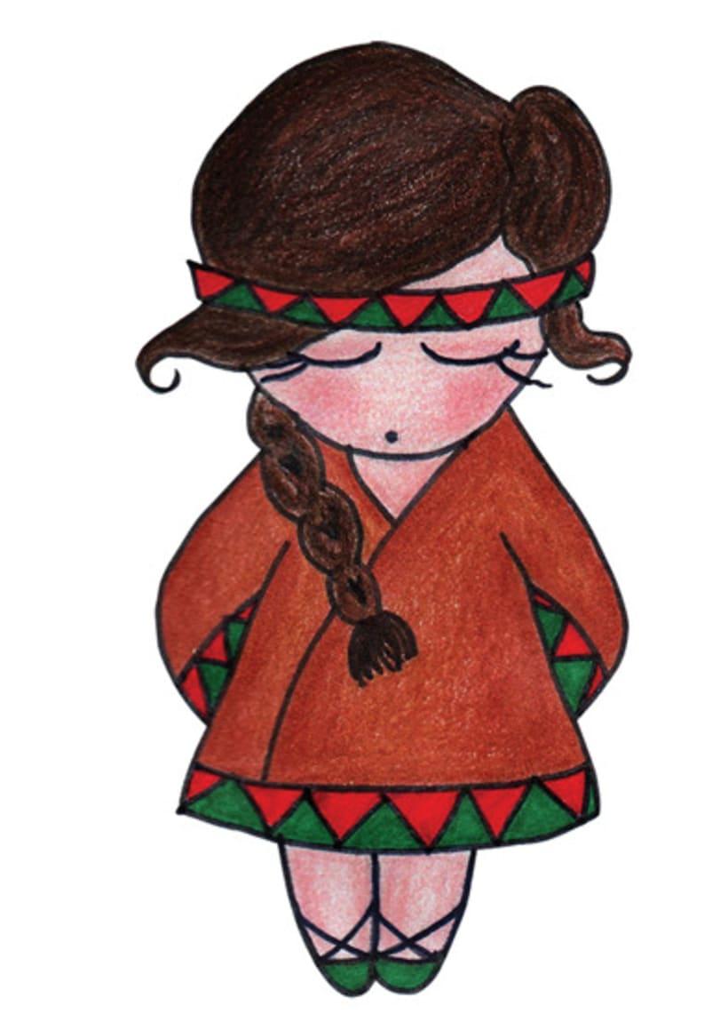 Ilustración infantil para la marca CUCHITA 18