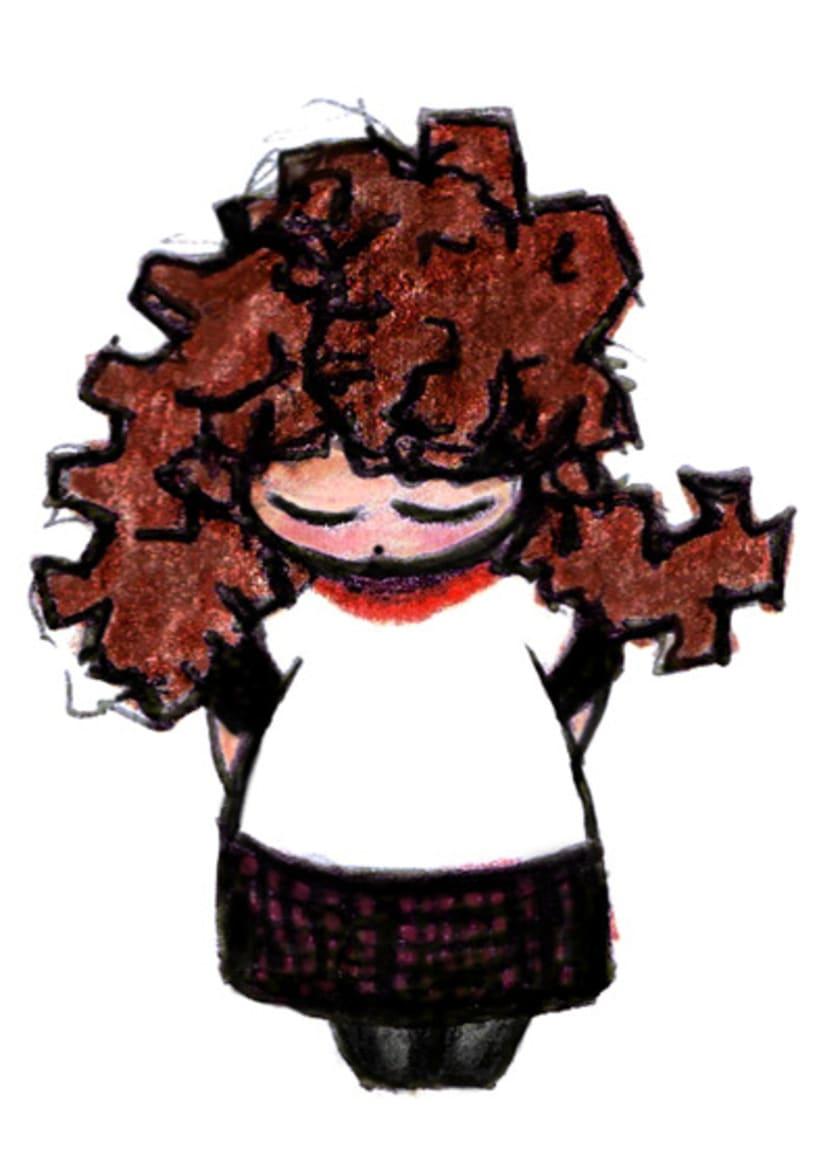 Ilustración infantil para la marca CUCHITA 16