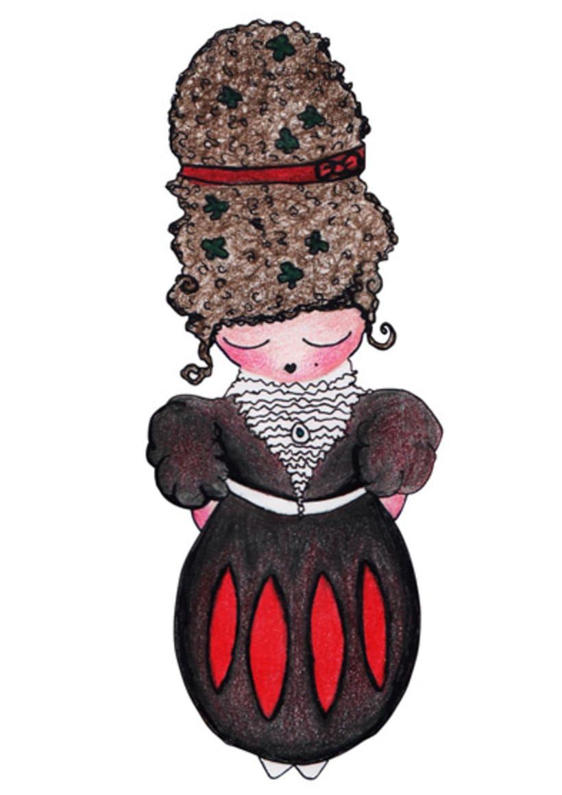 Ilustración infantil para la marca CUCHITA 15