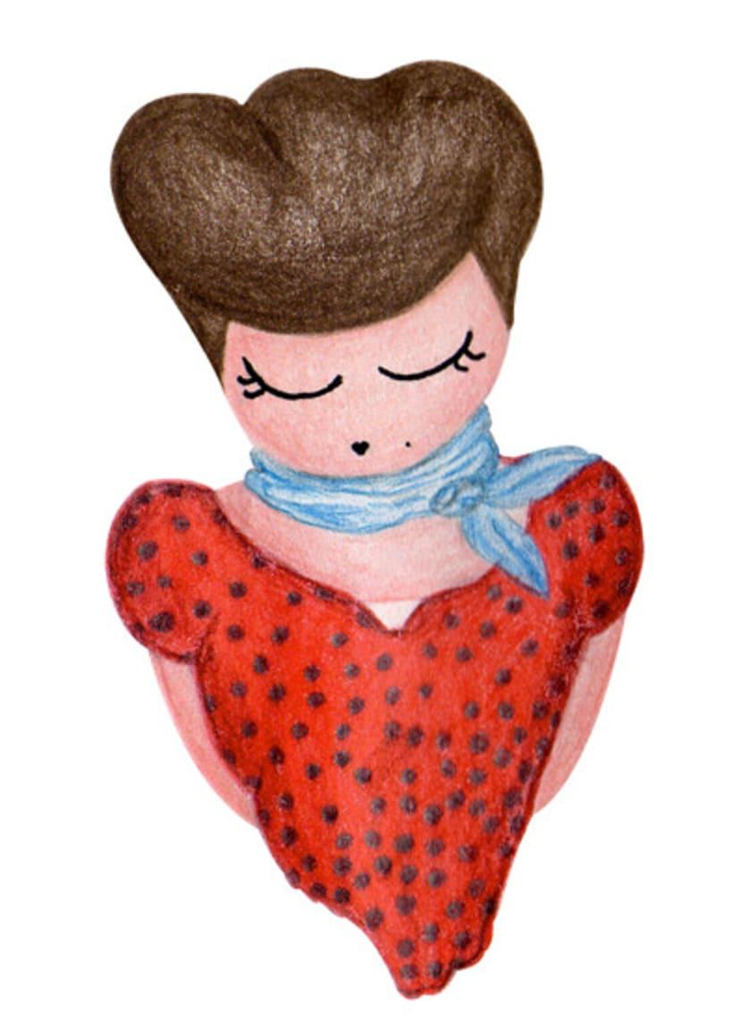 Ilustración infantil para la marca CUCHITA 10
