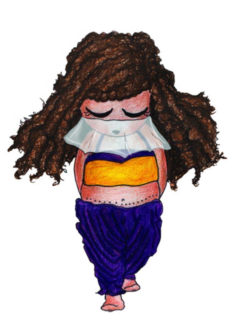 Ilustración infantil para la marca CUCHITA 8