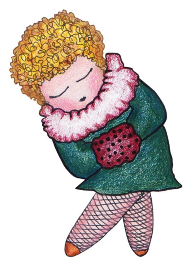 Ilustración infantil para la marca CUCHITA 7